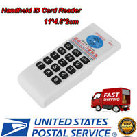 Handheld RFID IC/ID Card Reader Writer Copier Duplicator 125Khz 13.56MHZ