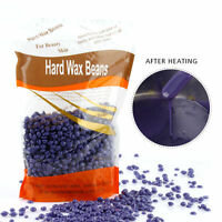Lavender 300g Depilatory Hard Wax Beans Body Legs Bikini Area Wax for Home Use