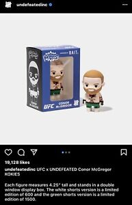 Undefeated x Kokies UFC Conor McGregor - (Green Shorts)