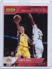 2017-18 Panini Instant NBA #36 Lonzo Ball Rookie Card Lakers - Only 549 made!