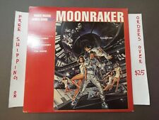 MOONRAKER ORIGINAL SOUNDTRACK JOHN BARRY 1979 LP JAMES BOND 007 UA-LA971-1