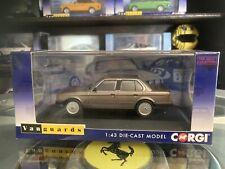 Vanguards 1986 RHD BMW E30 325i Saloon Luxor Beige 1/43 MIB Ltd Ed VA13800