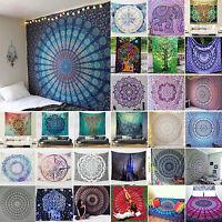 Indisch Mandala Tapisserie Strandtuch Wandteppich Wandbehang Yoga Matte Mat Deko