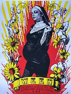 Ween: Austin, 2007 Poster, Signed and Numbered by 8Ball (Run of 100)