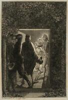 CHODOWIECKI (1726-1801). Hermann überrascht Julchen und den Prinzen Moritz 2