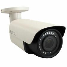 8 Megapixel 2160p UltraHD 4K IP 4X Motorized Zoom PoE IP Bullet Security Camera