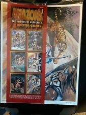 Amazons The Swords Of Vengeance By Hector Gomez 6 Prints New 1994