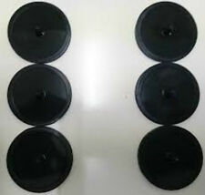 6 x RUBBER BLANKING DISC 49MM for Espresso Coffee Machines For Backflushing