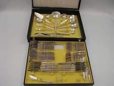 Drache Nizza Perldekor (Gold) Besteck 12 Personen 92 Teile 100er