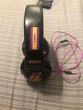 Kobe Bryant Skullcandy Black Mesh Over-Ear Headphones Los Angeles Lakers # 24