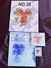Brother Embroidery card for brother embroidery Machine Angels no 38 Rare SA 338