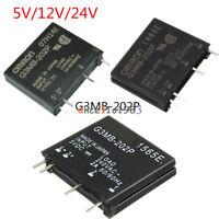1/2/5/10PCS 5V/12V/24V G3MB-202P DC-AC PCB SSR Solid State Relay Module