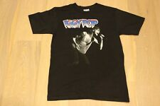 Vintage 1988 Iggy Pop Raw F*cking Power Tee Black T-shirt VTG 80s Punk Large 88
