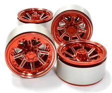 C26613RED Integy 1.9 Size Billet Alloy 8 Spoke Wheel(4)High Mass for Crawler