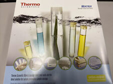 New Thermo Scientific Matrix 075 Ml 2d Tubes V Bottom Non Sterile 3731 11