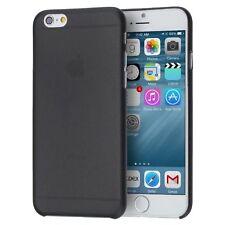 iPhone 6 / 6S Super Slim Protective Case. Shockproof Back Bumper Cover BLACK