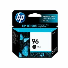 HP 96 Black Original Ink Cartridge (C8767WN), Yield 860