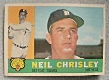 1960 TOPPS BASEBALL CARD-273-NEIL CHRISLEY-P-DETROIT TIGERS-SEE FREE SHP DEAL-WB
