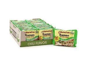 Maruchan Ramen, Chili Flavor, 3 oz (24-Pack)