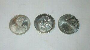 10 Euro Silbermünzen Deutschland (Konvolut 3 Stück)