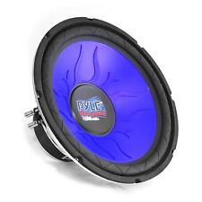 PYLE PL1290BL 12-Inch Blue Wave Series High-Power Subwoofer 4 Ohm