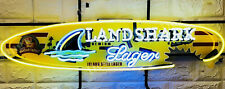 """Landshark Lager Beer Neon Sign Light for Bedroom Home Decor Man Cave 24"""" inches"""
