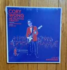 Cory Wong & Metropole Orkest Live in Amsterdam White 2 LP Vulfpeck OOP Only 500
