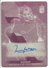 Doctor Who Timeless Terry Molloy Davros autograph Printing plate Card 1/1