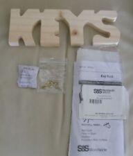 S&S Worldwide Unfinished Key Rack - Item #:WD803
