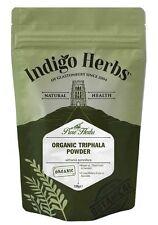 Organic Triphala Powder - 100g - Indigo Herbs