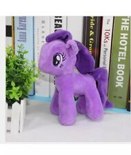 "8"" Purple My Little Pony Plush Collection Stuffed Animal Toy Horse Game"