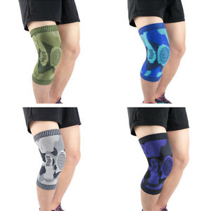 Elastic Anti-collision Supporting Sports Knee Protector Camouflage Knee Pads