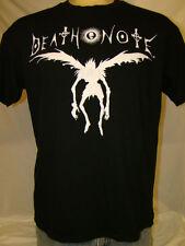 Death Note Shinigami Ryuk Silhouette Cartoon Anime Men's Black T-shirt Large