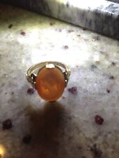 Gold Cameo Ring Vintage 10K G.F.