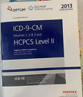 2013 EDUCATIONAL ICD-9-CM VOLUME 1, 2 & 3 & HCPCS LEVEL II By Ingenix-CodingUsed