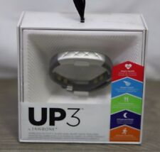 NEW Up3 By Jawbone Heart Rate Activity + Sleep Tracker GREY