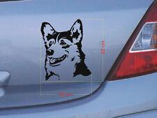 Bull Terrier Hundetattoo Aufkleber  7x10cm nr38