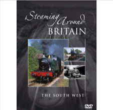 TRAINS-Steaming Around Britain -The South West  DVD as NEW