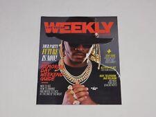 Las Vegas Weekly Magazine Rapper FUTURE Vegas Rap Music Concert Exclusive Issue