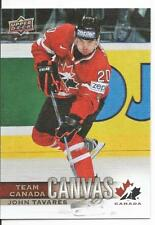 2017-18 John Tavares Canadian Tire Team Canada Canvas Card #TCC-25 Mint