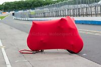 Ducati Panigale 1199 1299 Super Soft Stretch Indoor Bike Cover Breathable Red