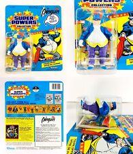 1984 Penguin Super Powers MOC 12 Back Vintage Kenner Carded Canadian French