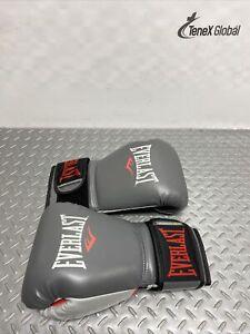 Everlas Powerlock Training Gloves Heavy Bag Mitt Work Sparring Grey/Red Z-126
