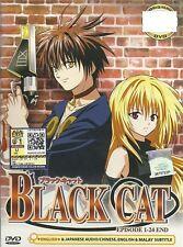 Anime Black Cat Complete Series Box Set (English)
