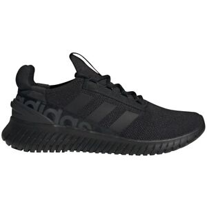 Mens Adidas Kaptir 2.0 All Black Sport Athletic Running Shoe H00279 Sizes 9-10.5