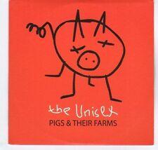 (EA362) The Unisex, Pigs & Their Farms - 2004 DJ CD
