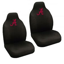 Alabama Crimson Tide Set of 2 Embroidered Seat Covers