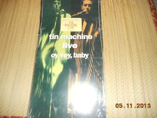 Tin Machine - Live: Oy Vey, Baby CD longbox sealed OOP NEW RARE David Bowie
