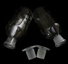 Vitro Usa Glass Laboratory Reagent Bottle Quantity Of Two