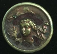 Antique Perfume Button, Lord Byron